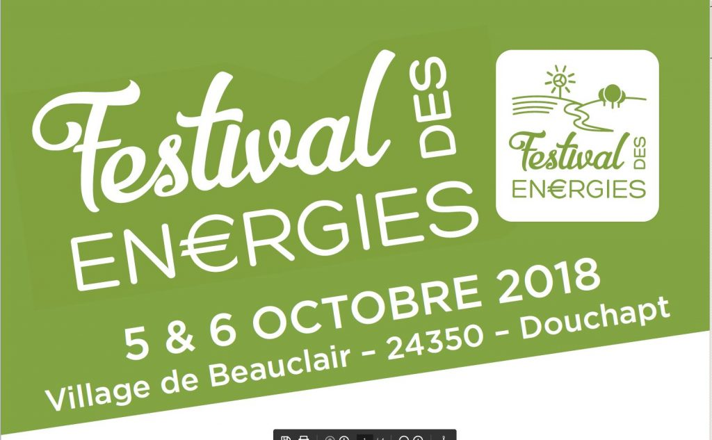 Affiche Festival Energie