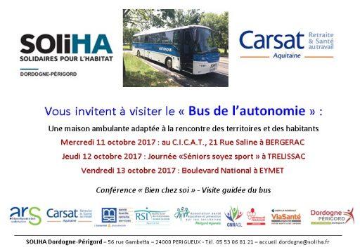 Invitation Bus de l'autonomie