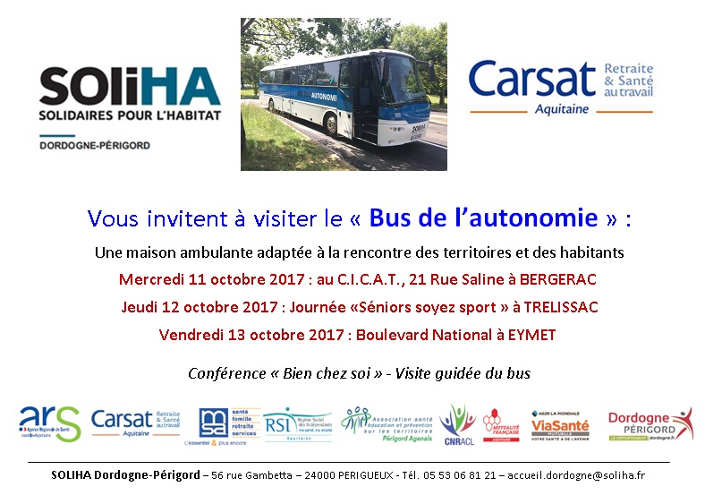 Invitation Bus de l'autonomie