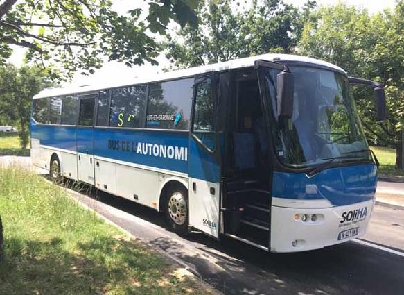 Le bus en nature